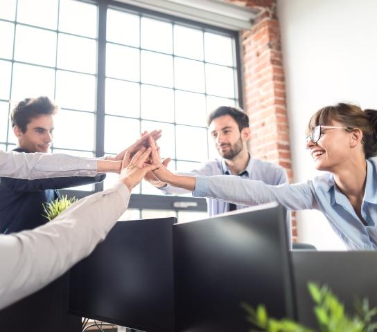 managed service provider team